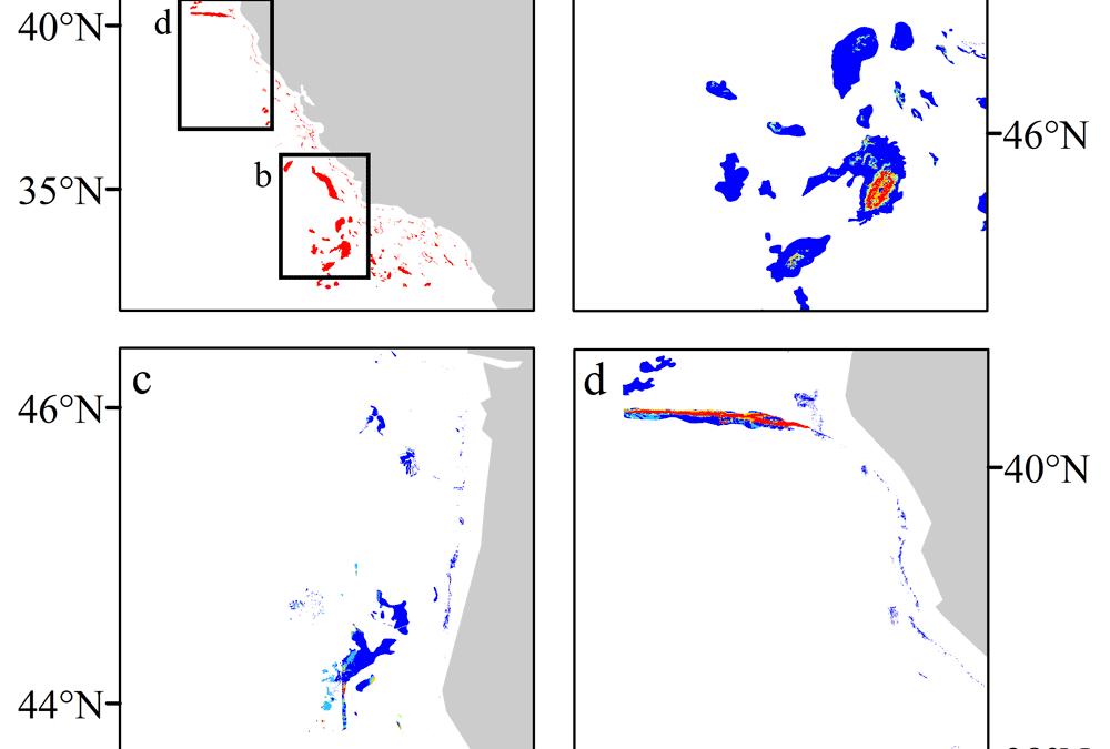 Predicted Deep-Sea Coral Habitat Suitability for the U.S. West Coast